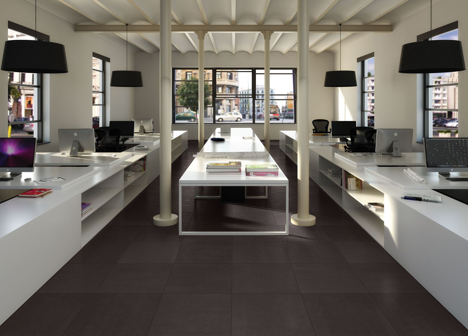 CP Architecture Dark Grey Gloss 60x60